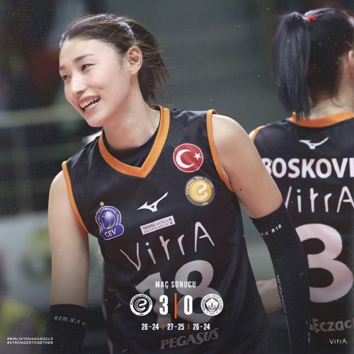 韓国女子バレーのエース、キム・ヨンギョンがトルコリーグで大活躍中 スポーツソウル日本版