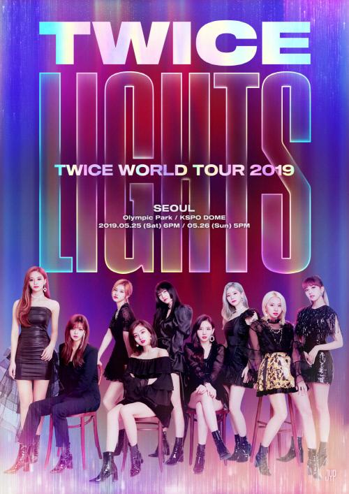 Twiceが初のワールドツアー開催 ソウルを皮切りに世界9都市10回公演