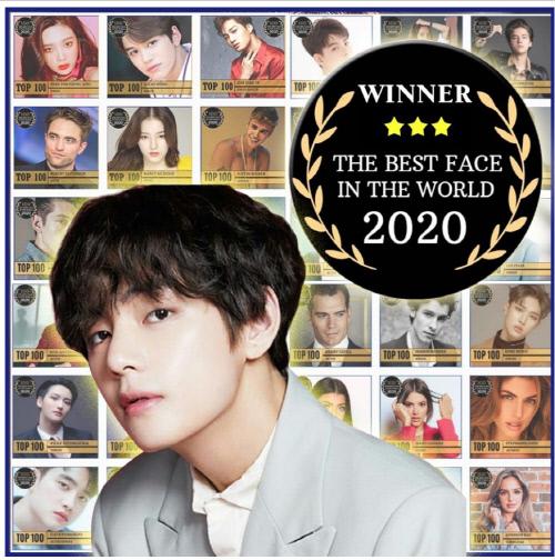 2020 世界で最も美しい顔