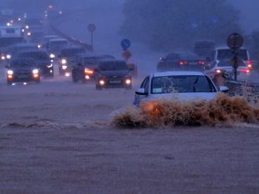 豪雨 韓国